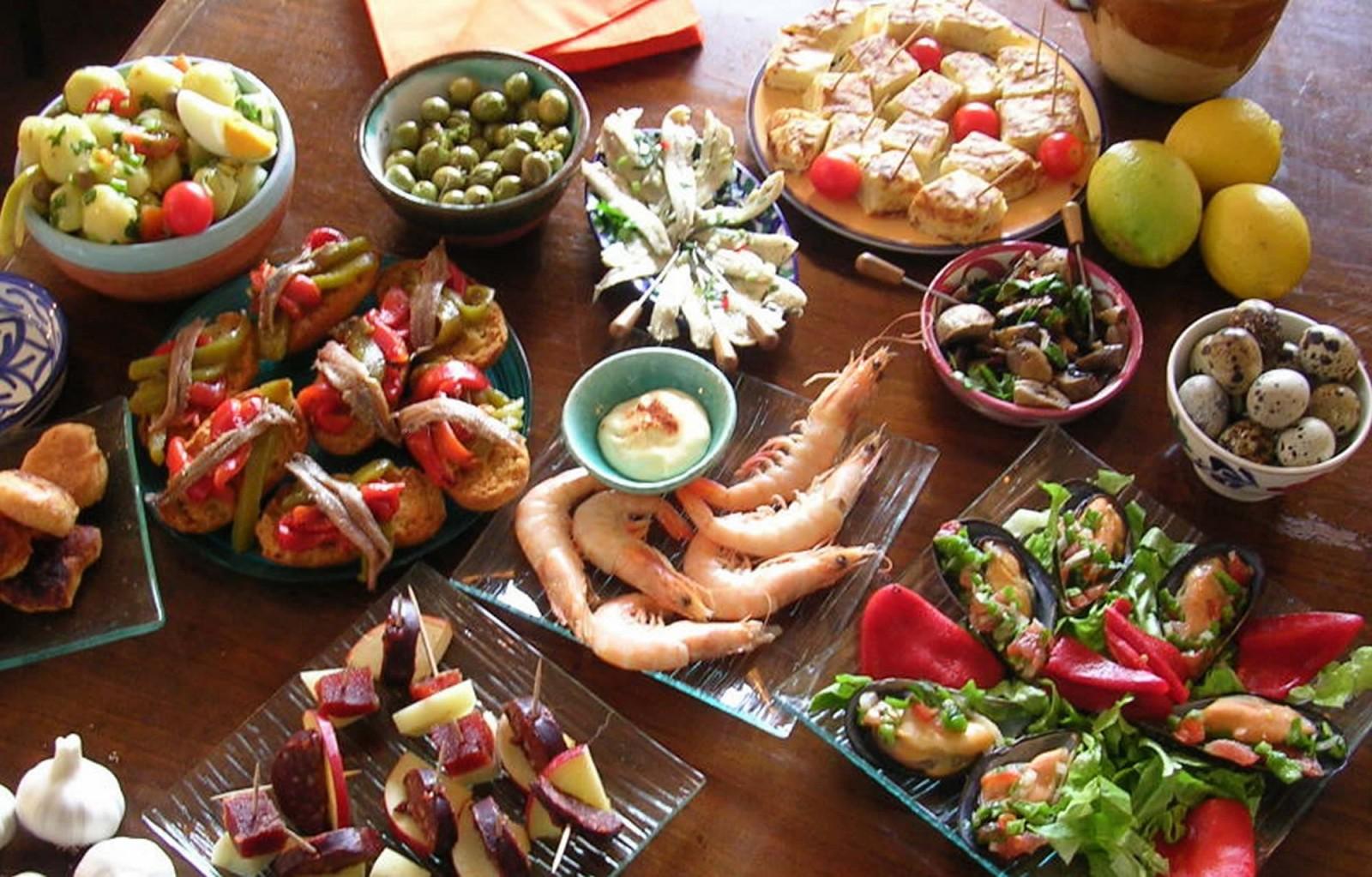 Испанский в картинках кухня